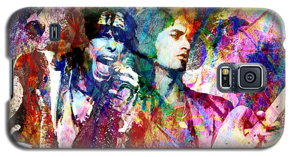 Steven Tyler Galaxy S5 Case - Aerosmith Original Painting by Ryan Rock Artist