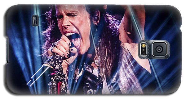 Aerosmith Steven Tyler Singing In Concert Galaxy S5 Case