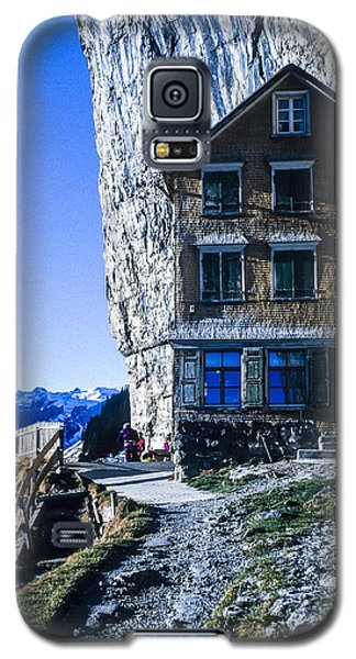 Galaxy S5 Case featuring the photograph Aescher Hotel by Tina Manley