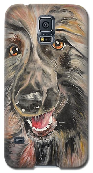 Galaxy S5 Case featuring the painting Afghan by PainterArtist FIN