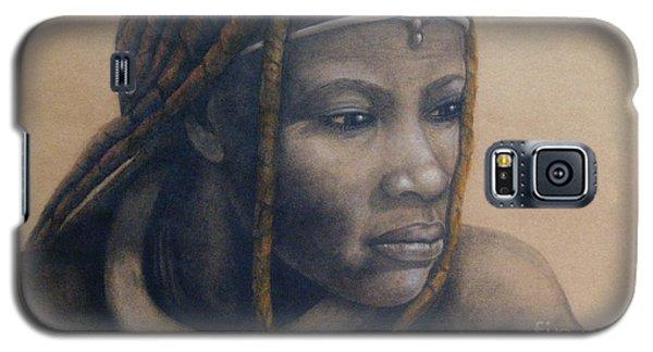 Afican Woman Galaxy S5 Case by James McAdams