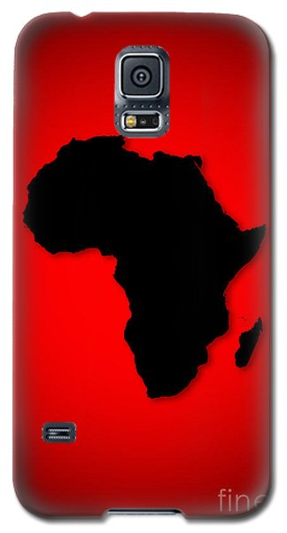 Galaxy S5 Case featuring the digital art Africa  by Mohamed Elkhamisy