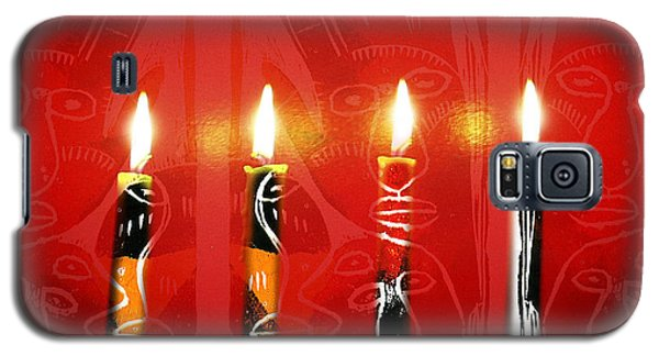 African Candles Galaxy S5 Case