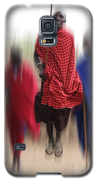 Galaxy S5 Case featuring the photograph African Dance by Christine Sponchia