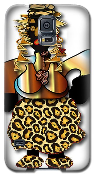 Galaxy S5 Case featuring the digital art African Dancer 2 by Marvin Blaine