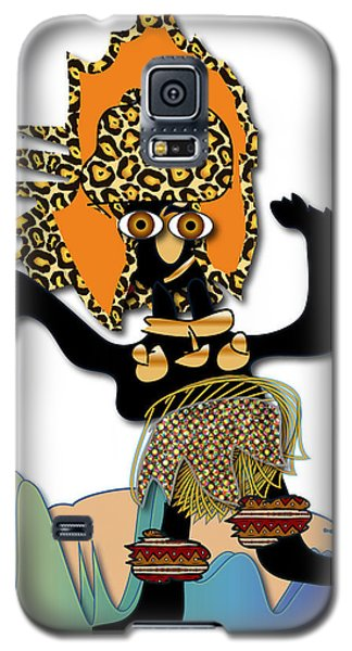 Galaxy S5 Case featuring the digital art African Dancer 6 by Marvin Blaine