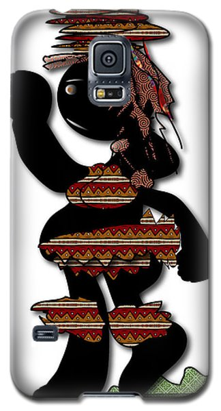Galaxy S5 Case featuring the digital art African Dancer 7 by Marvin Blaine