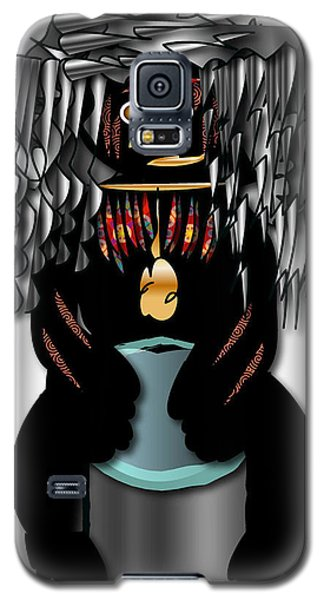 Galaxy S5 Case featuring the digital art African Drummer 2 by Marvin Blaine