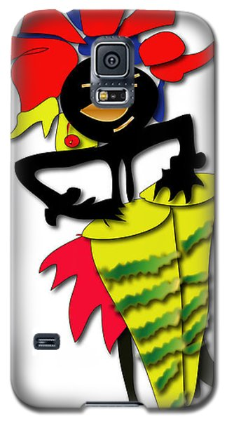 Galaxy S5 Case featuring the digital art African Drummer by Marvin Blaine