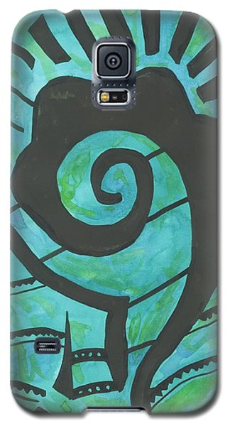 African Question Mark Galaxy S5 Case