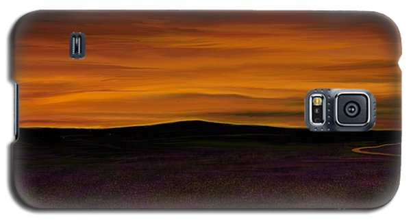 Galaxy S5 Case featuring the painting African Sky by Rand Herron