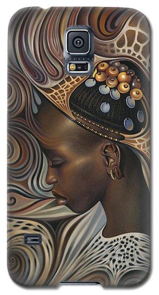 Brown Snake Galaxy S5 Case - African Spirits II by Ricardo Chavez-Mendez