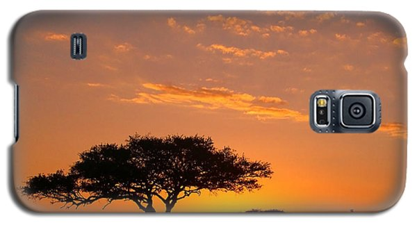 African Sunset Galaxy S5 Case