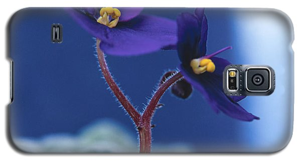Galaxy S5 Case featuring the photograph African Violet by Lana Enderle