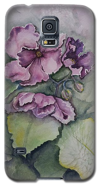 African Violets Galaxy S5 Case