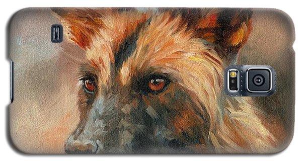 African Wild Dog Galaxy S5 Case