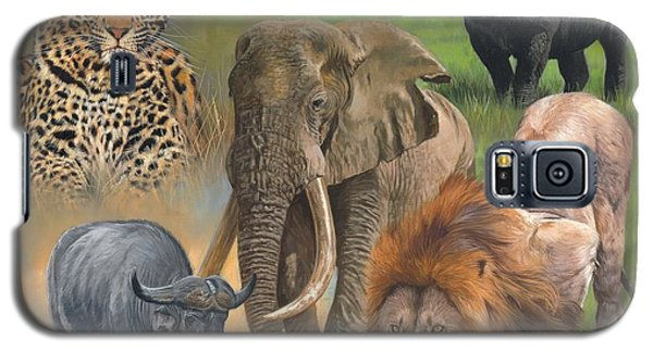 Africa's Big Five Galaxy S5 Case by David Stribbling