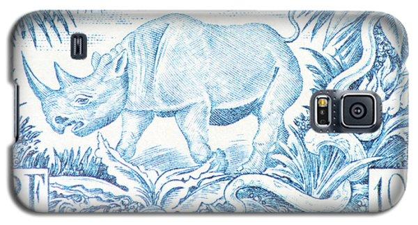 Afrique Rhino Galaxy S5 Case