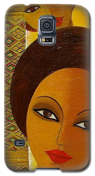 Afro Beauty Galaxy S5 Case