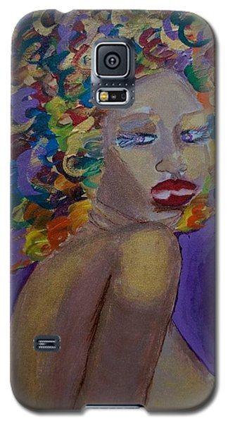 Afro-chic Galaxy S5 Case by Apanaki Temitayo M