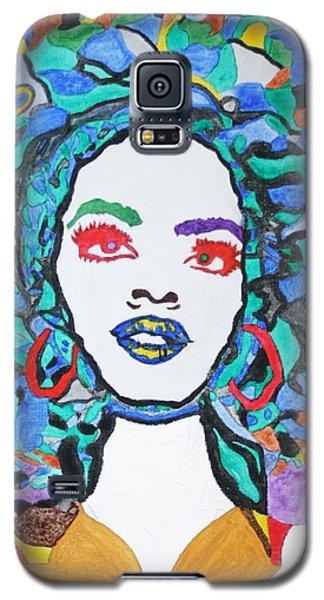 Afro Lauryn Hill  Galaxy S5 Case