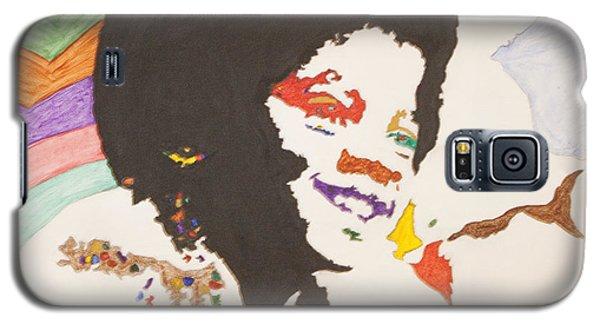 Afro Michael Jackson Galaxy S5 Case
