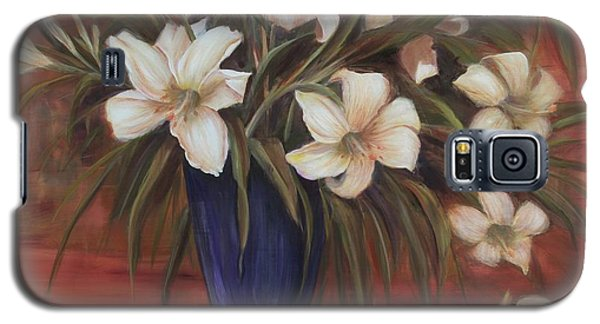 After Noon Lilies Galaxy S5 Case