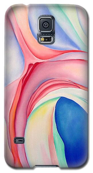 Galaxy S5 Case featuring the painting After Okeffee by Joshua Morton