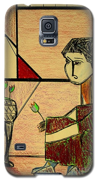 Galaxy S5 Case featuring the pastel after Picasso by Bill OConnor