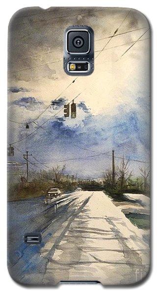 After Rain -on The Michigan Ave. Saline Michigan Galaxy S5 Case by Yoshiko Mishina