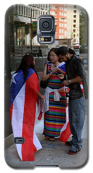 Galaxy S5 Case featuring the photograph After The Puerto Rican Day Parade by Dorin Adrian Berbier