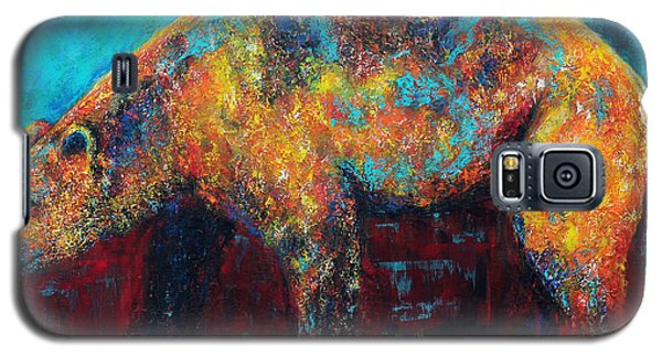 Galaxy S5 Case featuring the painting After The Rain by Jennifer Godshalk