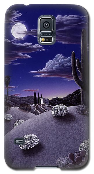 Desert Galaxy S5 Case - After The Rain by Snake Jagger