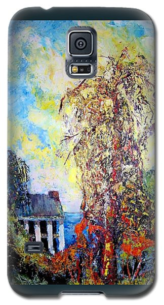 Galaxy S5 Case featuring the painting after Will Henry Stevens by Jodie Marie Anne Richardson Traugott          aka jm-ART