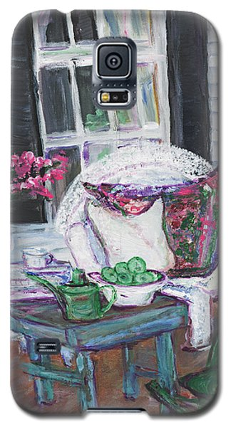Afternoon At Emmaline's Front Porch Galaxy S5 Case by Helena Bebirian