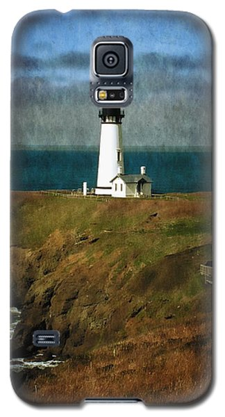 Afternoon At The Yaquina Head Lighthouse Galaxy S5 Case