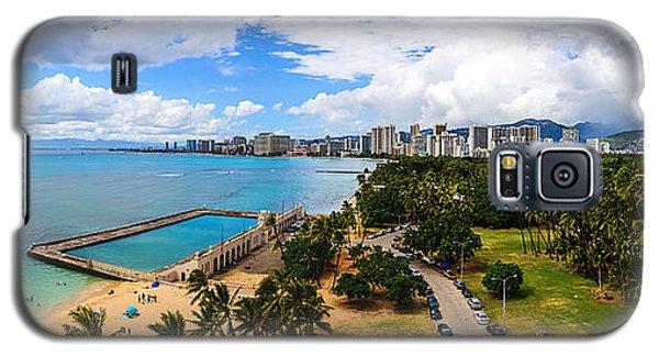 Afternoon On Waikiki Galaxy S5 Case