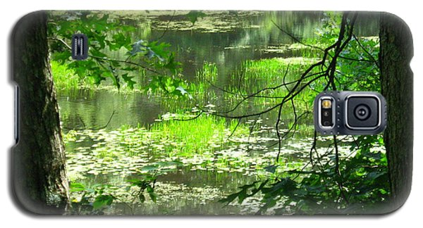 Galaxy S5 Case featuring the photograph Afternoon Reflections by Bruce Carpenter