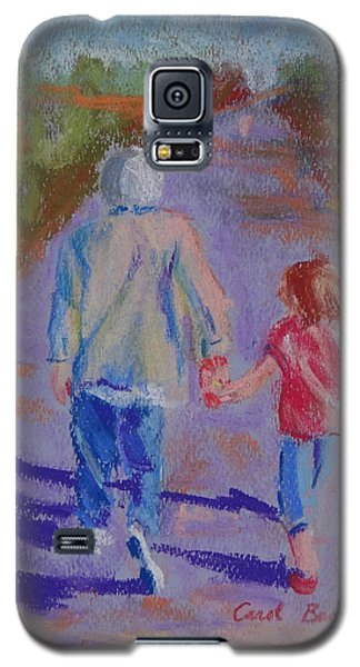 Afternoon Stroll Galaxy S5 Case by Carol Berning