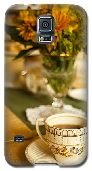 Afternoon Tea Time Galaxy S5 Case