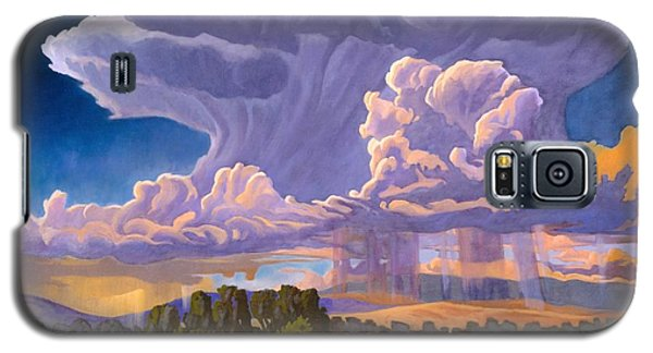 Galaxy S5 Case featuring the painting Afternoon Thunder by Art James West