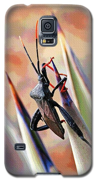 Galaxy S5 Case featuring the photograph Agave Bug  by Tom Janca