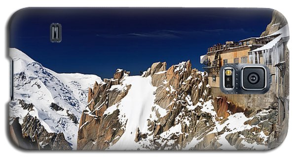 Galaxy S5 Case featuring the photograph Aiguille Du Midi -  Mont Blanc Massif by Antonio Scarpi