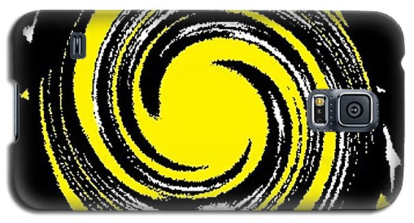 Galaxy S5 Case featuring the digital art Aimee Starry Night by Catherine Lott