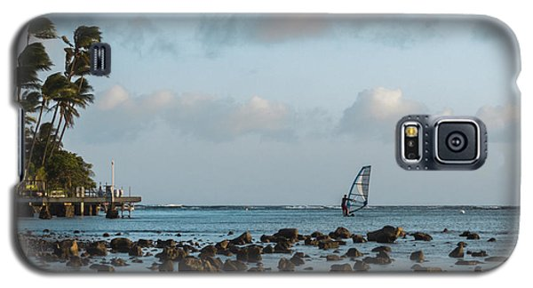 Aina Haina Windsurfer 1 Galaxy S5 Case by Leigh Anne Meeks