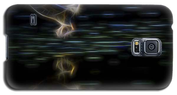 Galaxy S5 Case featuring the digital art Air Elemental 2 by William Horden