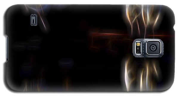 Galaxy S5 Case featuring the digital art Air Elementals 1 by William Horden