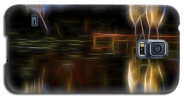 Galaxy S5 Case featuring the digital art Air Elementals 2 by William Horden