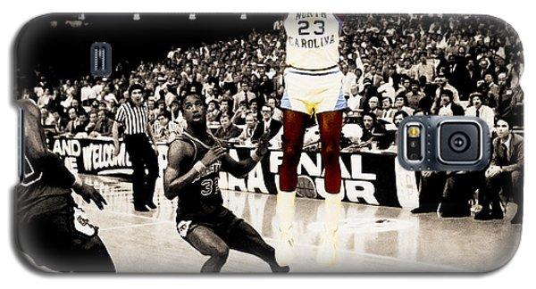 Air Jordan Unc Last Shot Galaxy S5 Case by Brian Reaves
