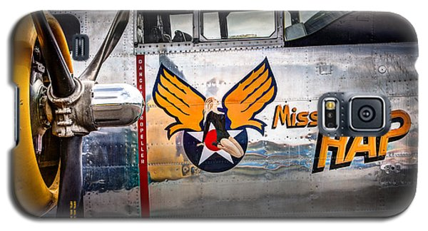 Aircraft Nose Art - Pinup Girl - Miss Hap Galaxy S5 Case